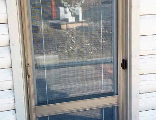 Okenní a dveřní síť proti hmyzu