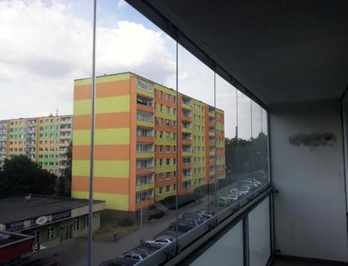 Zasklení balkonu Louny