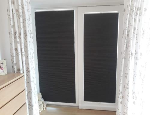 Interiérové stínění plissé Černčice