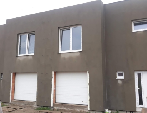 Garážové vrata a okna