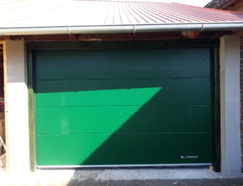 Sekční garážová vrata Lomax
