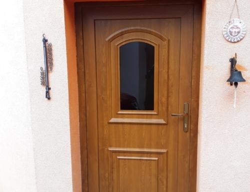 Vchodové dveře Gealan S 8000IQ