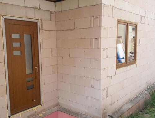 Plastová okna a vchodové dveře