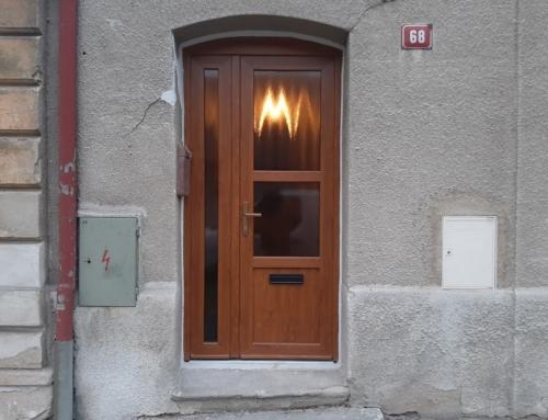 Vchodové dveře Gealan S8000IQ