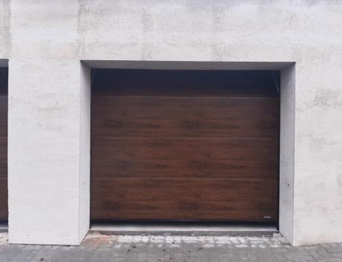 Garážová sekční vrata